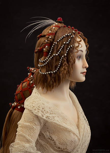Renaissance hairdress