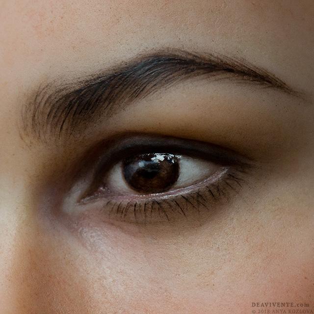 Super macro eye